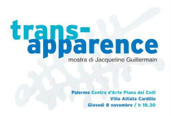 "Jacqueline Guillermain - ""Trans-apparence"""