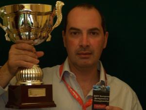 Il palermitano Ugo Piazza campione europeo di backgammon