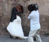 """Una scena di """"Un bacio a Palermo"""" di Adrian Paci"""