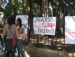 Università degli sgubbi di Palermo