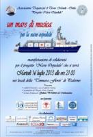 """""""Un mare di musica per la nave ospedale"""""""