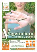 """""""Vegetariani come e perché"""""""