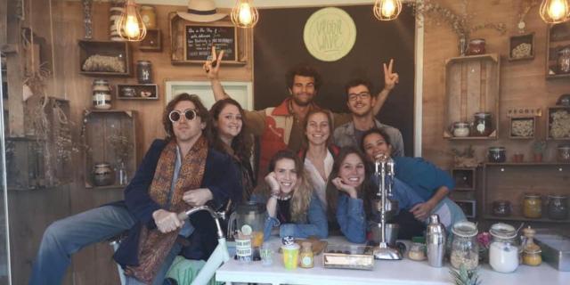 """Veggie Wave a Palermo, i """"succhi di frutta a pedali"""""""