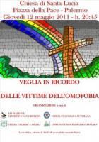Veglia di preghiera per le vittime dell'omofobia