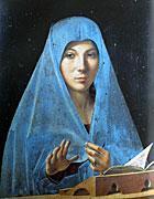 Antonello da Messina - Vergine Annunciata