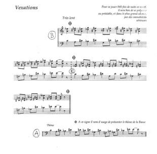 """Erik Satie - """"Vexations"""""""