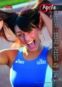 Vincenza Calì sul calendario Feel rouge 2007