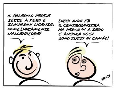 """""""0-7 e 61-0"""" anche a Palermo"""