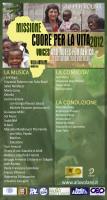 """""""Voci e note per l'Africa - Cuore per la vita 2012"""""""