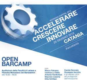 """Working Capital Accelerator"" a Catania"