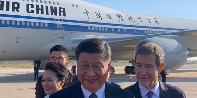 Xi Jinping e Nello Musumeci