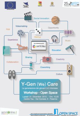 """""""Y-Gen (We) Care, La generazione dei giovani (ci) interessa"""" al Centro Tau"""