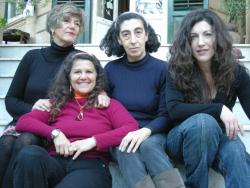 Luciana Zarini, Maria Teresa De Sanctis, Mara Montante e Letizia Porcaro