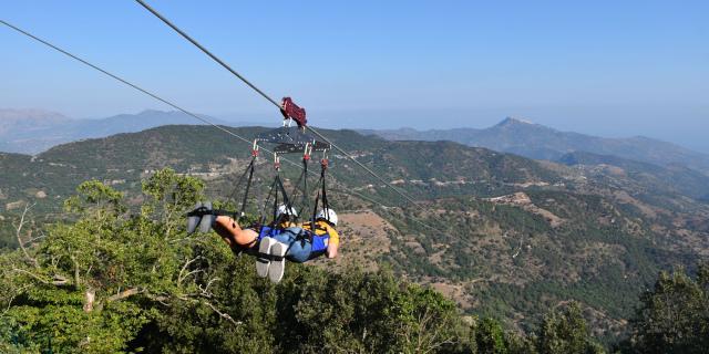 Aperta la Zipline Sicilia a San Mauro Castelverde
