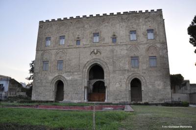 Scempio al Castello della Zisa