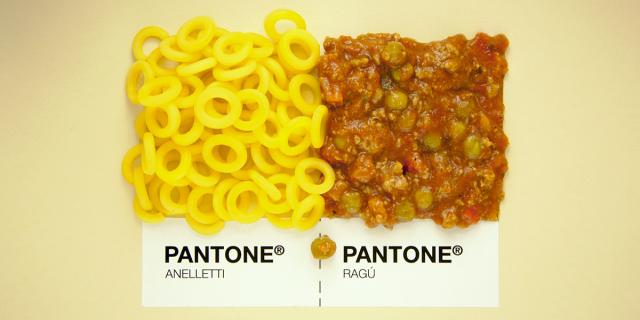 """Sicilian food as Pantone"""