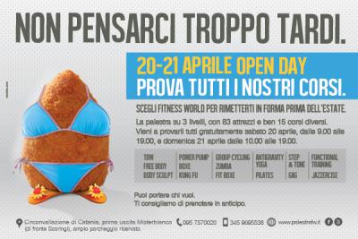 """""""L'arancina coi piedi"""" nella pubblicità a Catania"""