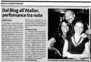 Articolo sul Giornale di Sicilia sulla festa del quarto compleanno di Rosalio