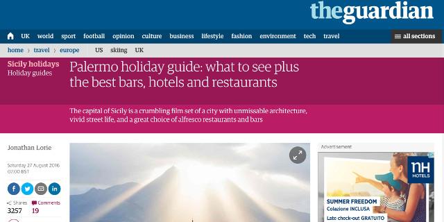 Il Guardian dà autorevole conferma...della decadenza di Palermo
