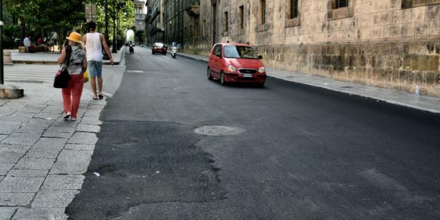 Vergogna, il percorso Arabo Normanno asfaltato