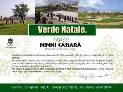 """Un """"Verde Natale"""" (ma soprattutto l'ultimo), firmato Diego Cammarata"""