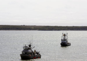 Barche da pesca in Alaska