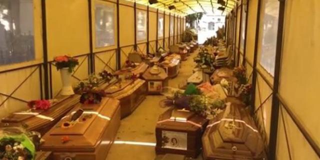 Lo scandalo dei Rotoli, cinquecento bare in attesa di sepoltura