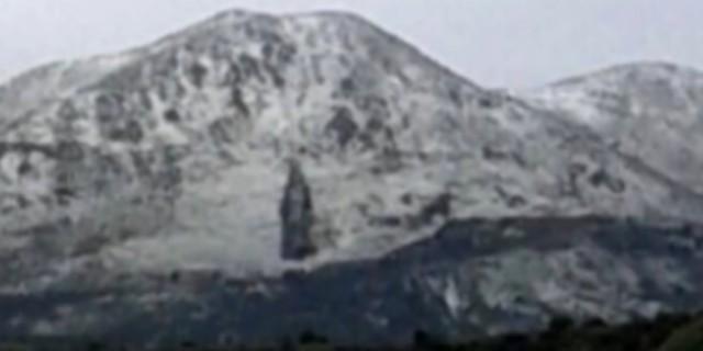 La Madonna sulla collina tra Torretta e Capaci, apparizione o pareidolia?