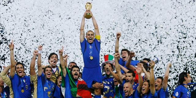 Le quattro coppe del mondo di calcio vinte dall'Italia a Palazzo delle Aquile