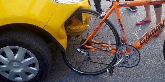 Autiomobilista vs. ciclista: iniziano i giochi!!