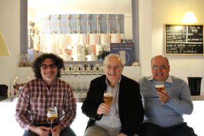 Da sinistra Alessandro Picciotto, Mauro Ricci e Sergio Raciti