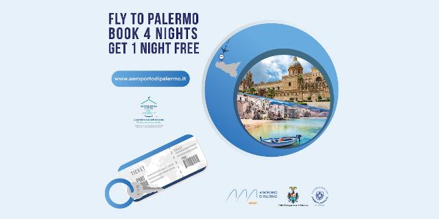 Per chi vola a Palermo e prenota quattro notti una è gratis