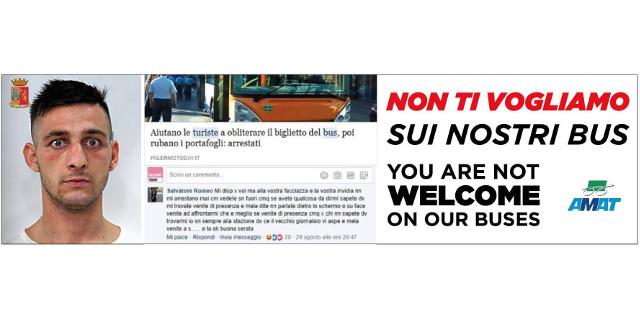 """L'Amat contro il borseggiatore spavaldo: """"Non ti vogliamo sui nostri bus"""""""