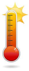 Meteo: tra oggi e domani previste temperature fino a 35 gradi