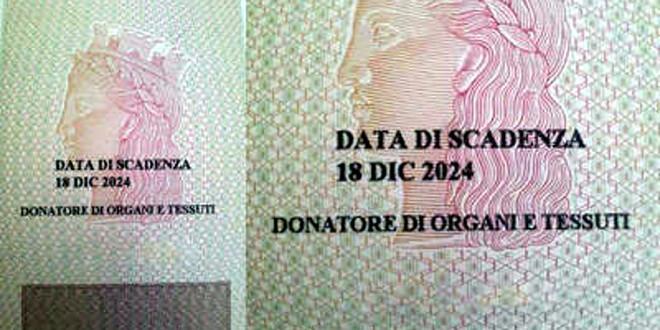 Possibile indicare sulla carta d'identità se si vogliono donare organi e tessuti