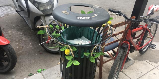 I cestini fioriti di Francesca a Palermo