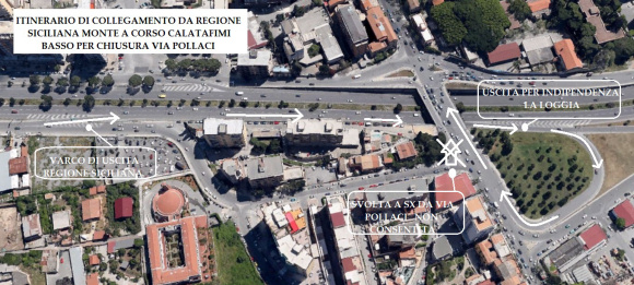 Tram, chiudono il ponte Calatafimi e via Pacinotti