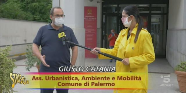 """La """"ciclopolitana"""" improbabile di Palermo a Striscia la Notizia"""
