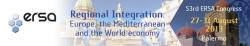 Congresso dell'Ersa sull'integrazione regionale Europa/Mediterraneo
