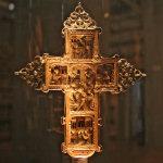 Crocetta lignea del secolo XVII