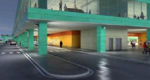 Nuovo curb partenze all'aeroporto di Palermo