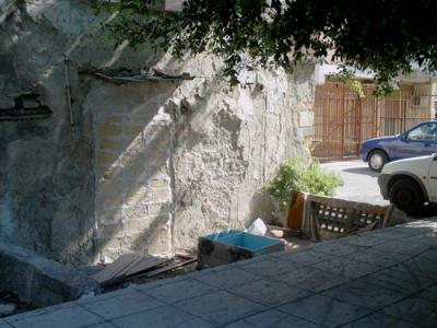 Discarica in via Castellana