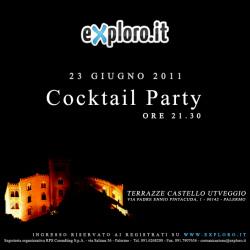 Si presenta exploro.it a Castello Utveggio (workshop e cocktail)
