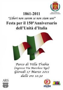 Festa per i 150 anni dell'Unità d'Italia