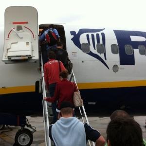 Fila sul volo per Londra