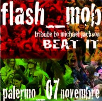 "Flash mob ""Beat it"""
