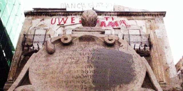 Una fontana senza pace
