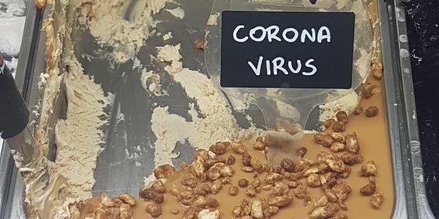 A Palermo c'è il gelato al gusto di...Coronavirus