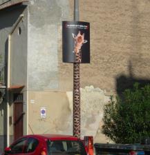 Campagna giraffa Pubblicarrello