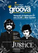 """""""La notte della groova"""" con i Justice"""